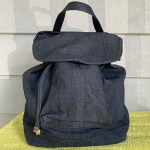 Country Road Navy Cotton Backpack